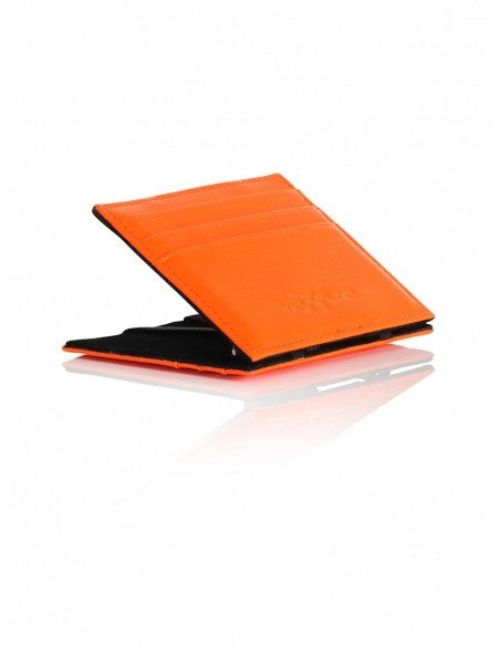 Portafoglio Leather Colored Edition Arancio