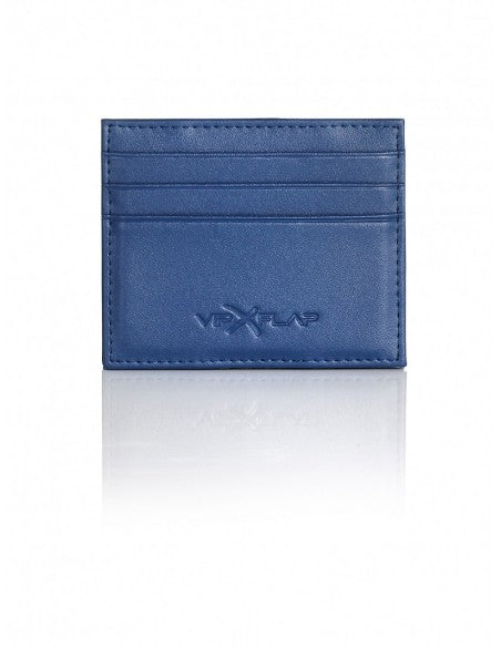 Portafoglio Leather Colored Edition Blu Scuro