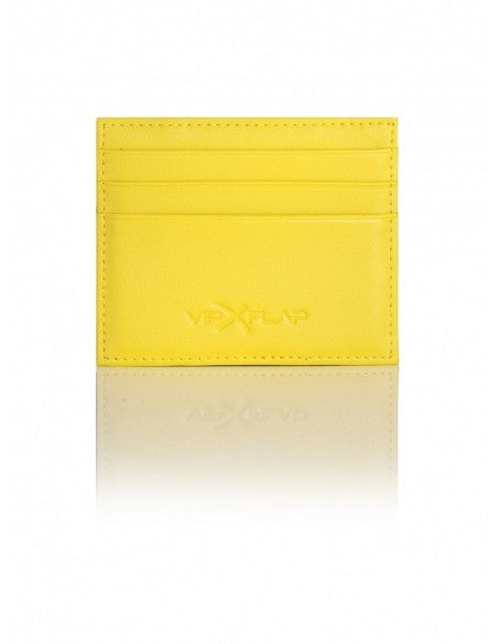 Portafoglio Leather Colored Edition Giallo