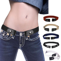 Buckle-Free Elastic Invisible Belt