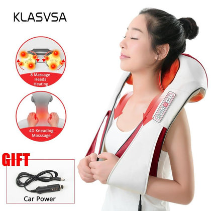Electric Heating Neck Massager
