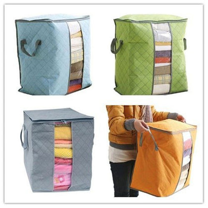 Lasperal Portable Quilt Storage Bags