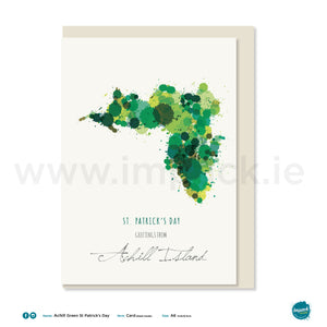 "Greetings Card - ""Achill Island - St. Patrick's Day"""