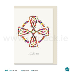 "Greetings Card ""Celtic Cross"""