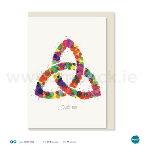 "Greetings Card - ""Celtic Knot"""