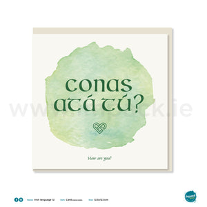 "Irish Greetings Card - ""How are you?"""