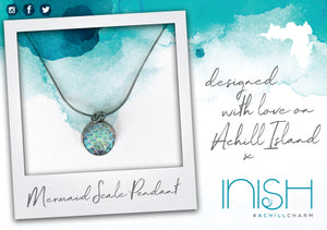 Inish 'Mermaid Scale' Pendant