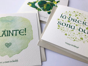 Irish Greeting Cards Gift Box Collection