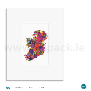 'Ireland Colour', Unframed - Wall art print, poster or mount