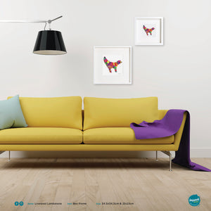 'Lambanana', Unframed - Wall art print, poster or mount