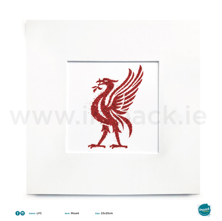 'LFC', Unframed - Wall art print, poster or mount