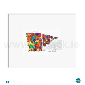 'Cliffs of Moher', Unframed - Wall art print, poster or mount