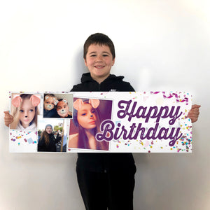 PERSONALISED Banner - Birthday / Wedding / Christening
