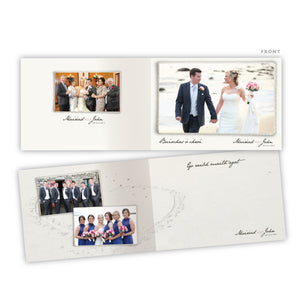 Wedding Thank You - Edged Photo - 75 Cards