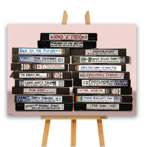 Wedding - VHS Video Tape A1 Table Plan