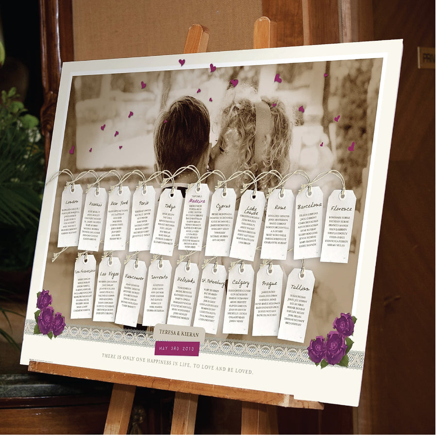Wedding - Custom A1 Table Plan