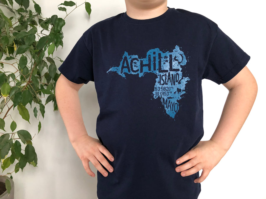 Kids Short Sleeve T-Shirt - Deep Navy - Unisex