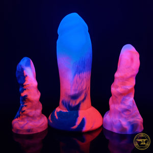 Medium Bone Devil, Soft 00-30 Firmness, Vampire Kiss, 3346, UV, GLOW