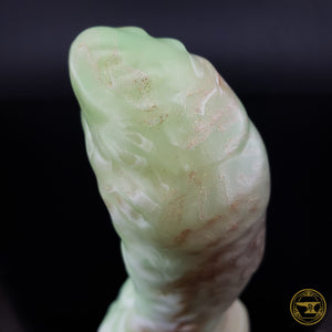 XS Aboleth, Medium 00-50 Firmness, NEW Green Glow/Gold/White, 3996, UV, GLOW