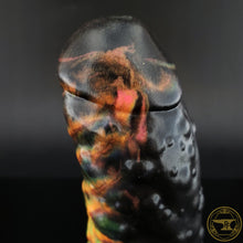 Load image into Gallery viewer, |SOLD OUT| Small Troll, Medium 00-50 Firmness, Black Rainbow, 0064, UV