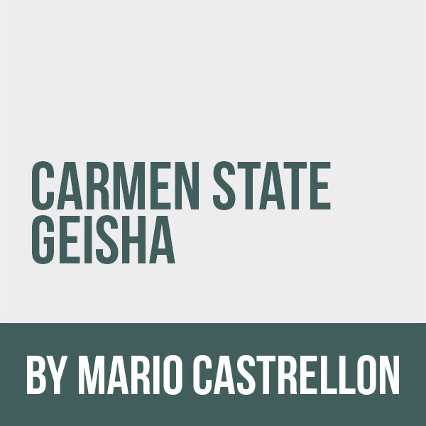 Carmen Estate Geisha by Mario Castrellon Restore