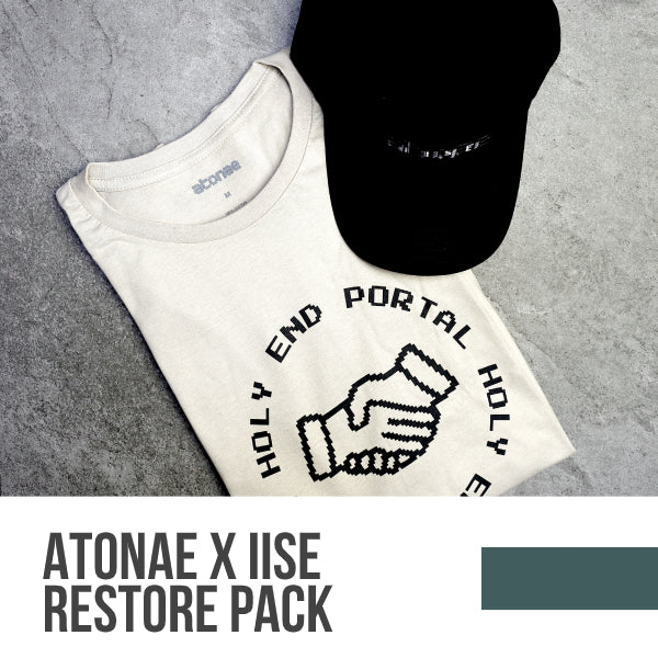 REstore pack: Holy End Portal T-Shirt & Atonae x IISE Hat