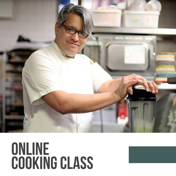 Online Cooking Class with Oscar Lorenzzi