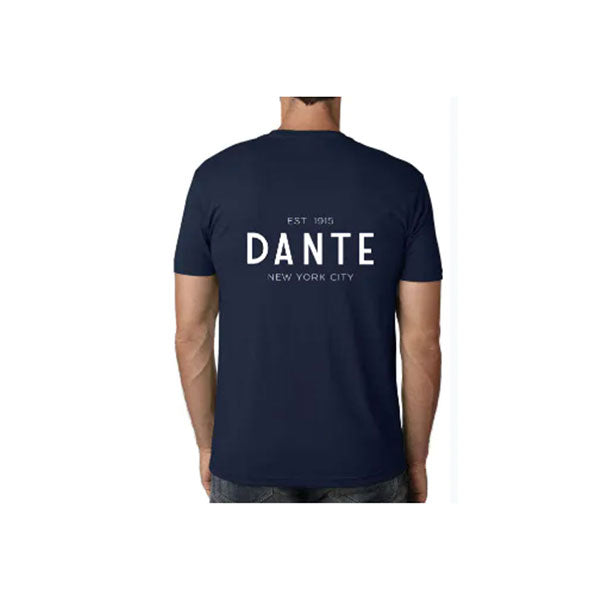 Dante's Men's Navy Negroni T-Shirt Back by Dante Restore