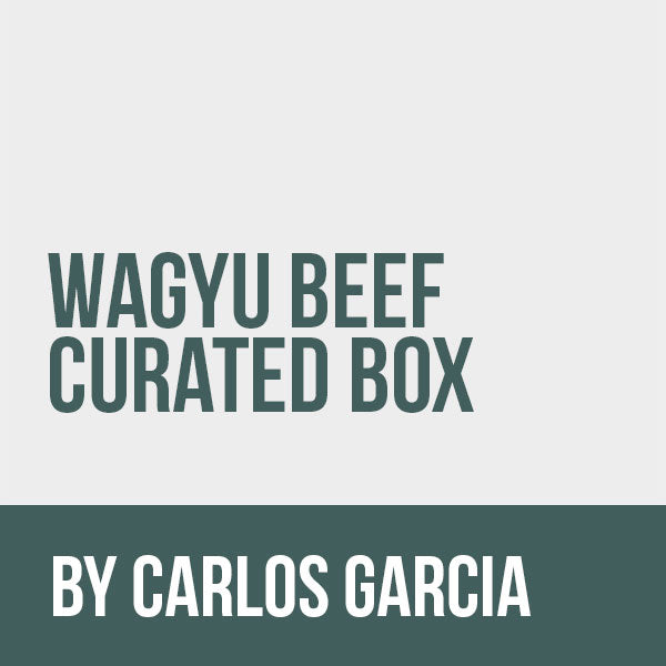 Wagyu Beef Delivery Box Curated by Carlos Garcia Restore