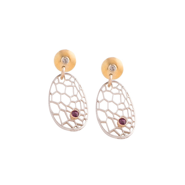 BOTANIK Disc earrings