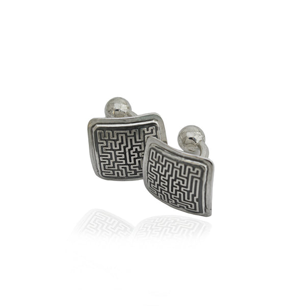 SIGNATURE Square cufflinks