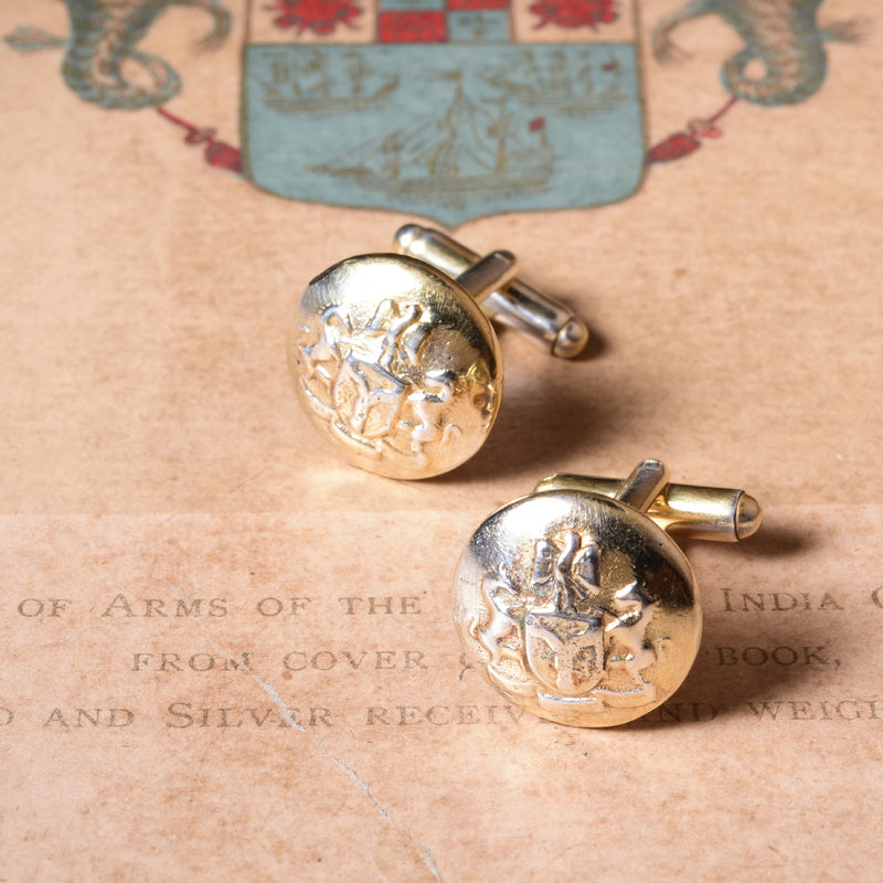 THE IMPERIAL BUTTON CUFFLINK