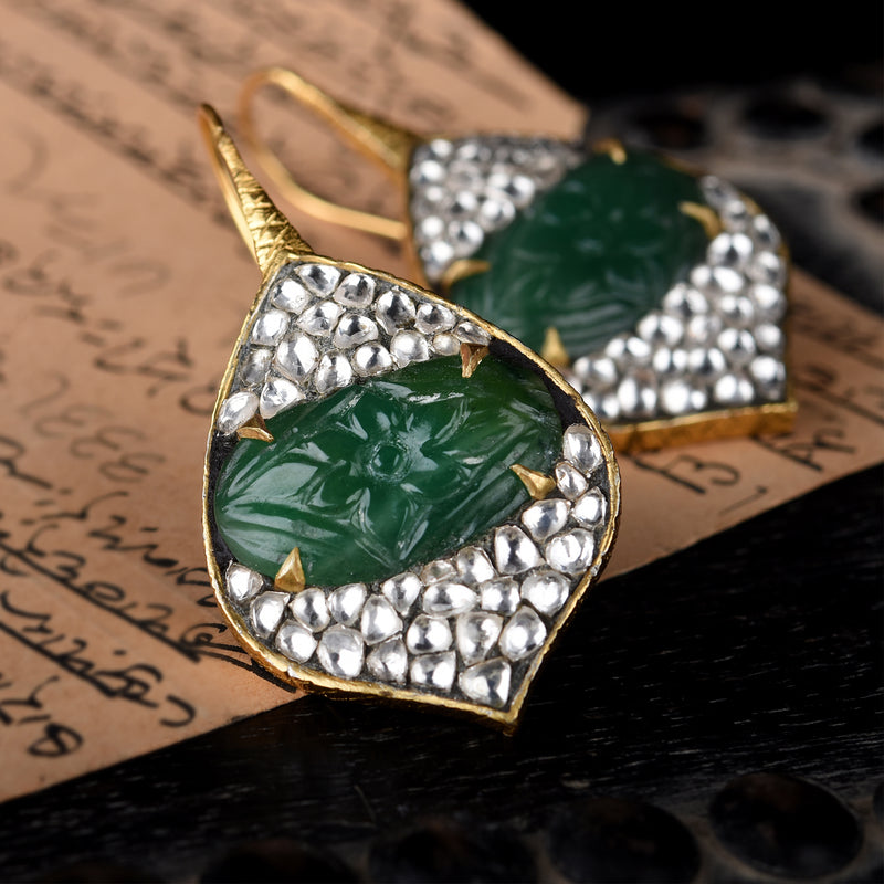 MAJESTIC PETAL EARRINGS