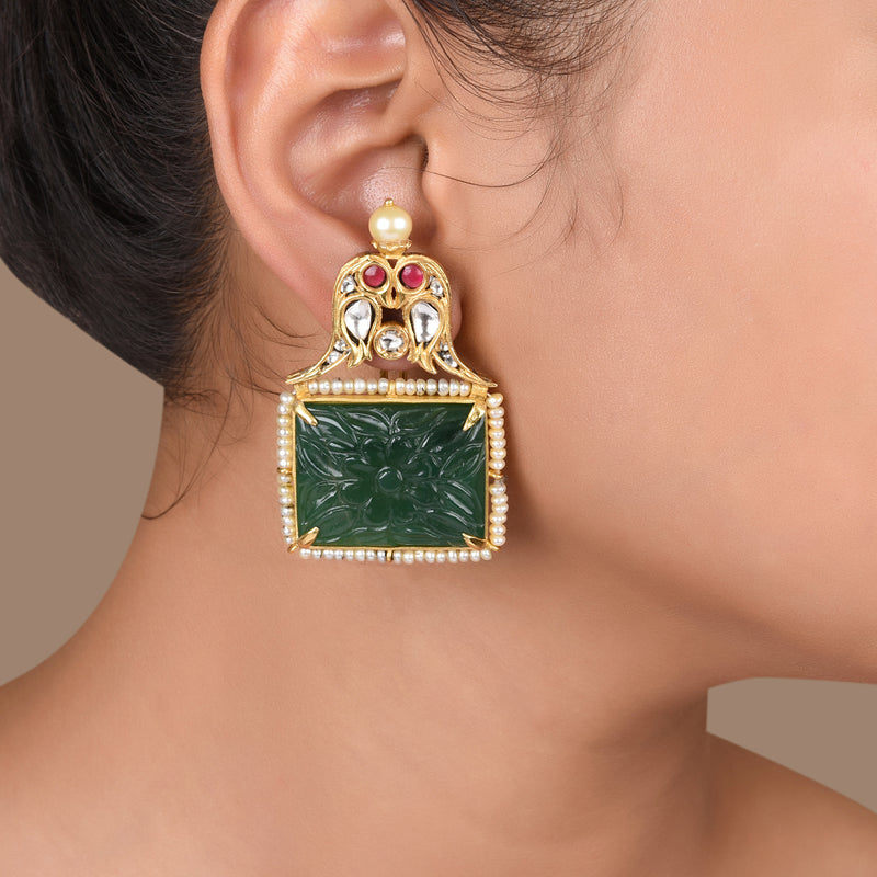 PARROQUET EARRINGS