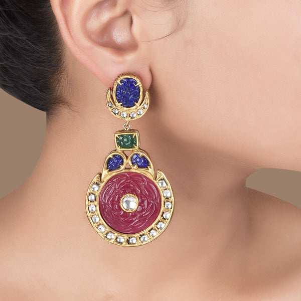 JAIPUR POLO EARRINGS