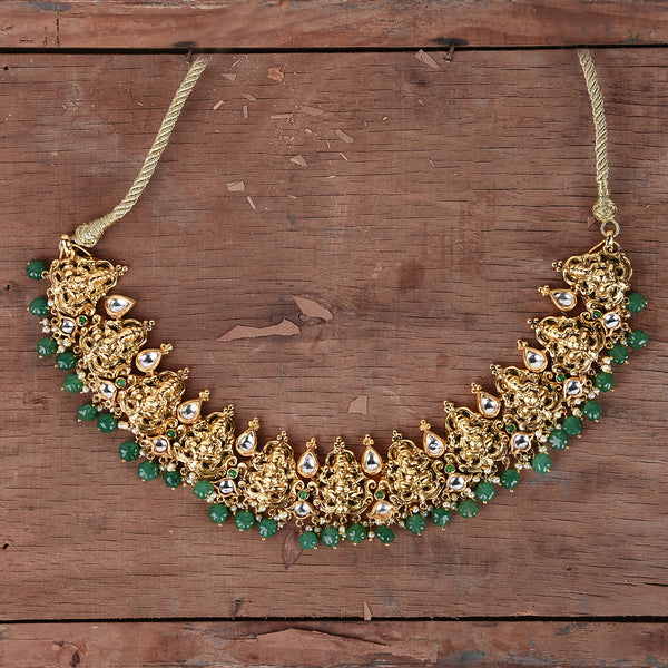 The godess lakshmi necklace