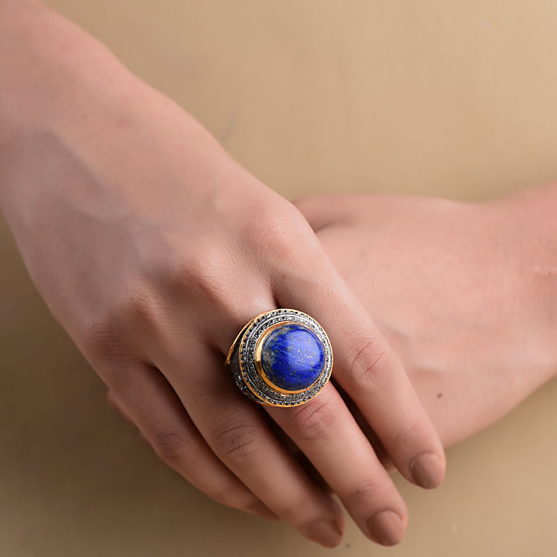TWO-TONE WARRIOR RING