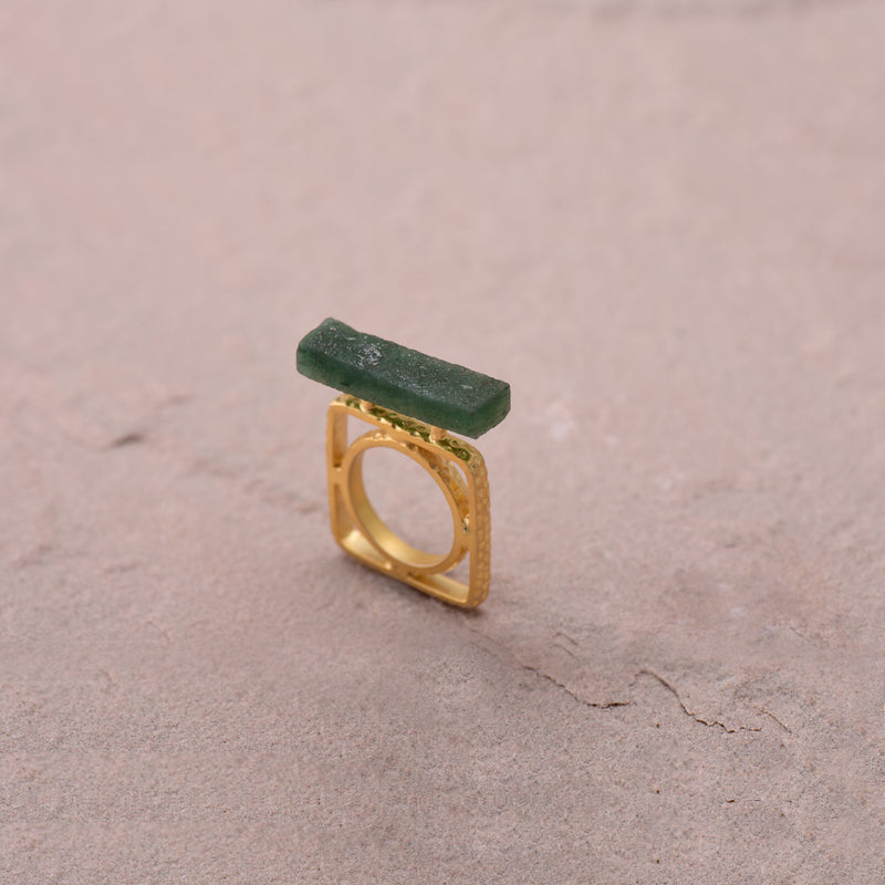 GEOMETRIC SLAB RING