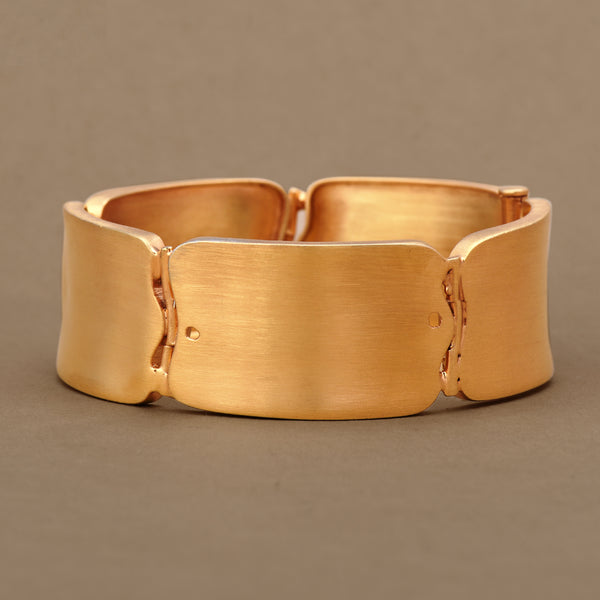 GOLD BRICK BANGLE