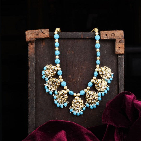 THE ETERNAL TURQUOISE BAALI NECKLACE