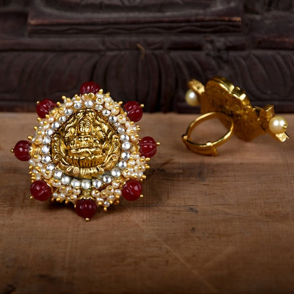 THE PEARL GAJRA RING