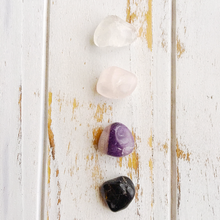Load image into Gallery viewer, Let Go & Love * Rose Quartz, Black Onyx, Amethyst & Crystal Quartz