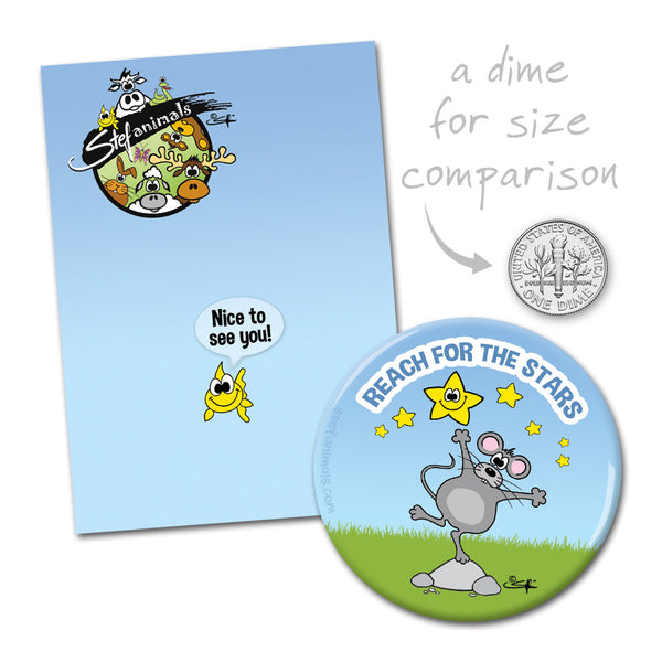 REACH FOR THE STARS Magnet