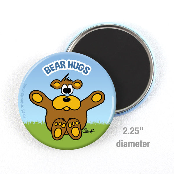 BEAR HUGS Magnet