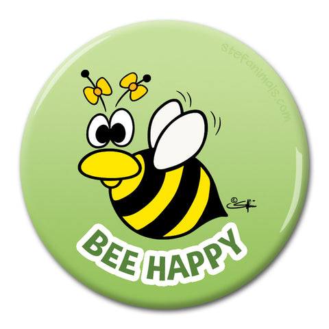 BEE HAPPY Magnet