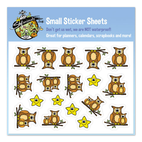 Small Sticker Sheets