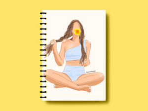 Beach Babe A5 Notebook | Limoncello Tales