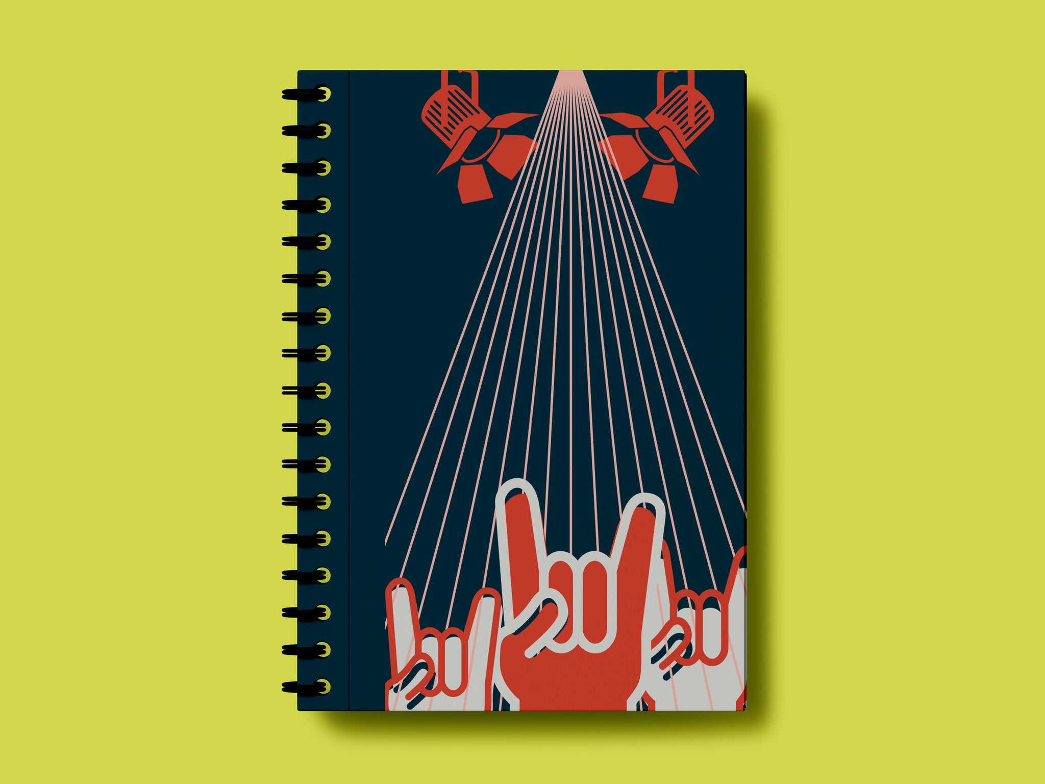 Be A Rockstar A5 Notebook- Solo Sushi