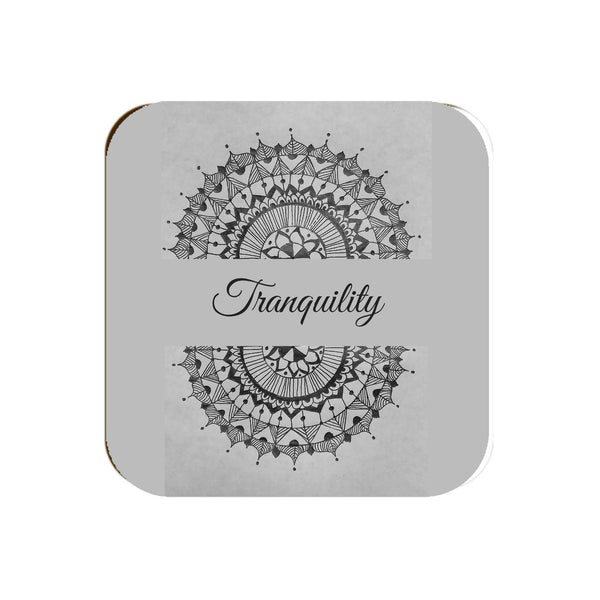 Tranquility Mandala - Coaster | Yellow Orchids