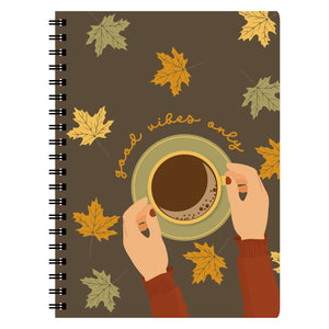 Good Vibes Fall Notebook - The Print Route